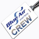 Blue Air Crew Tag